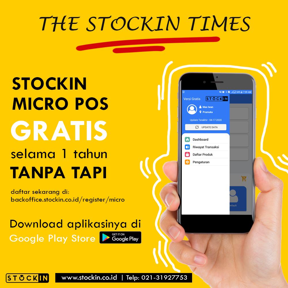 STOCKIN Micro POS Kasir Online